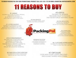 PACKING PAL_11 Reasons
